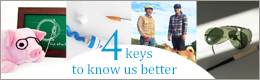 4keys to know us better